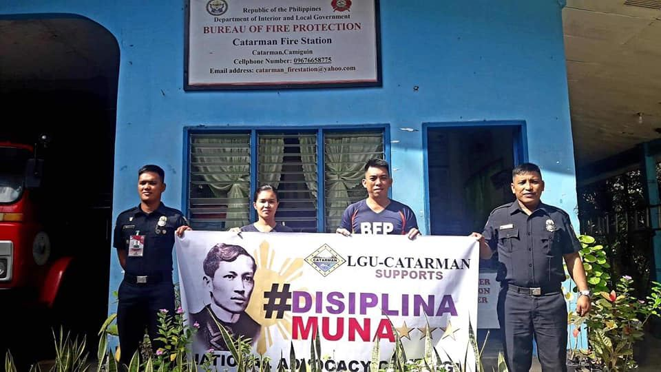 Pictures of Disiplina Muna launching