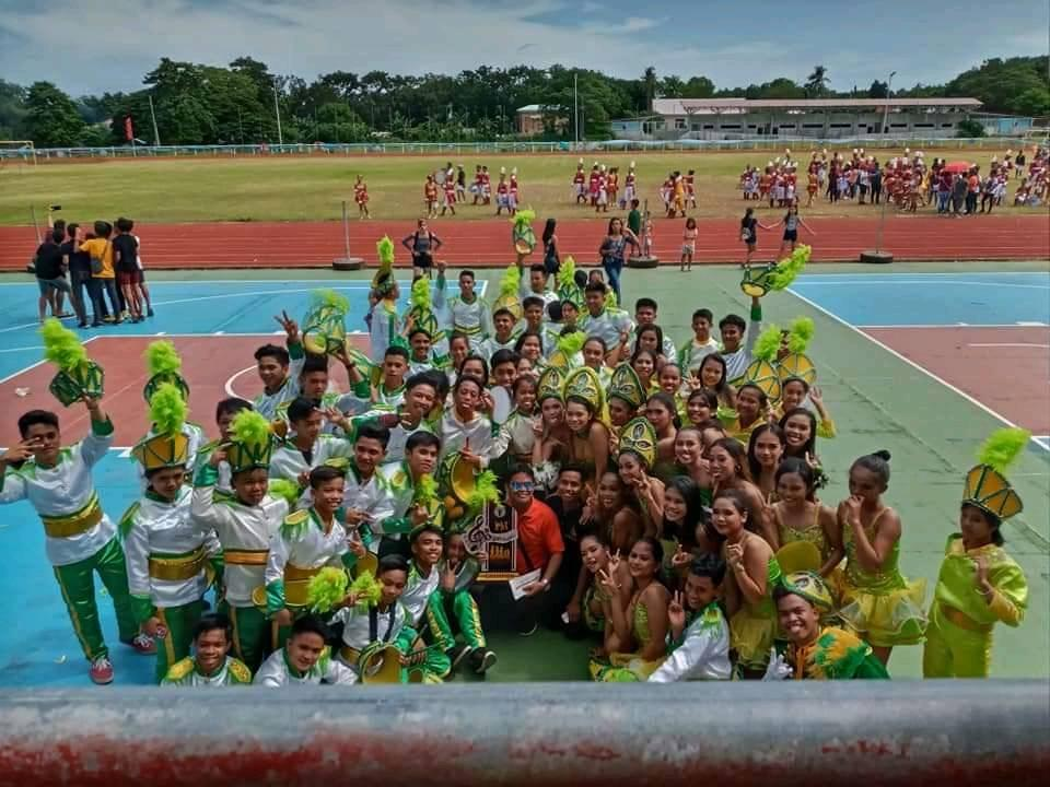 Bonbon National High School represented LGU Catarman, Camiguin and won Champion in the Inter-Municipality Marching Band Competition.